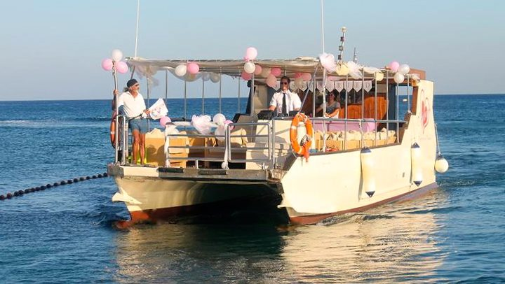 Rhodes boat cruises around Kallithea
