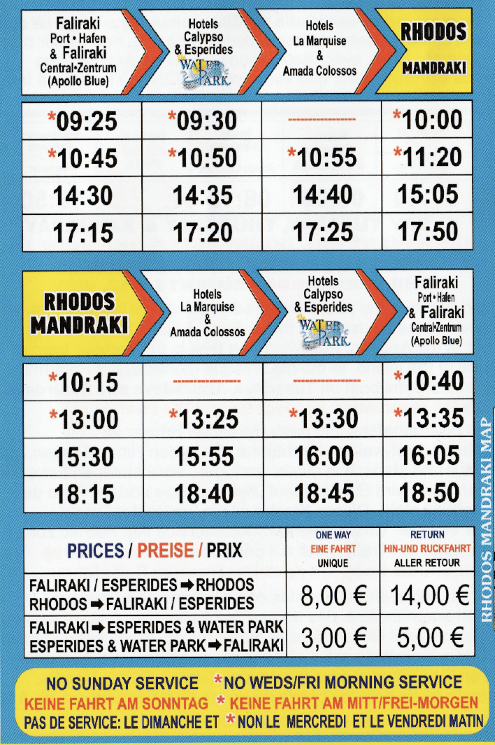 rhodes- faliraki program